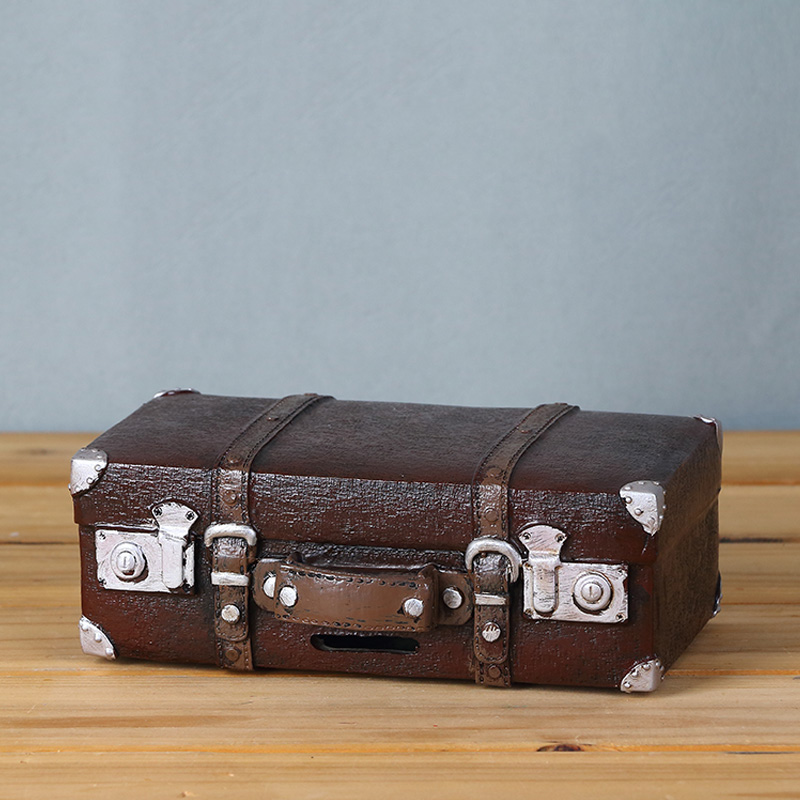 Vintage Retro Suitcase Desk Decorations - Ideal For Photo Props