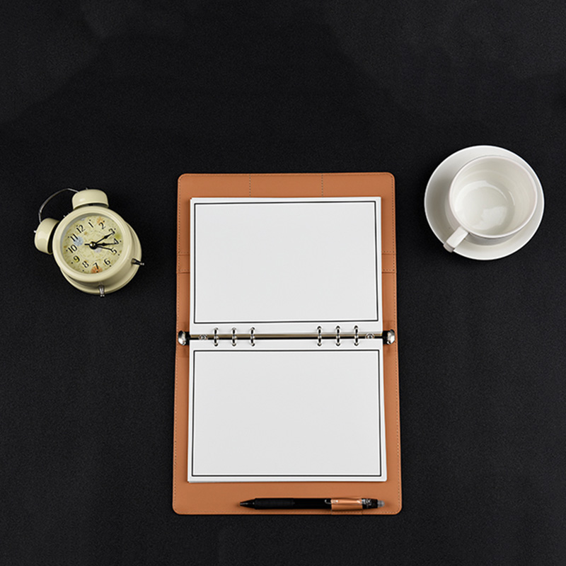 Elfinbook X Smart Reusable Leather Notebook - Water-to-Erase notebook, Reusable and erasable up to 500 times; Cloud Storage notebook and leather journals