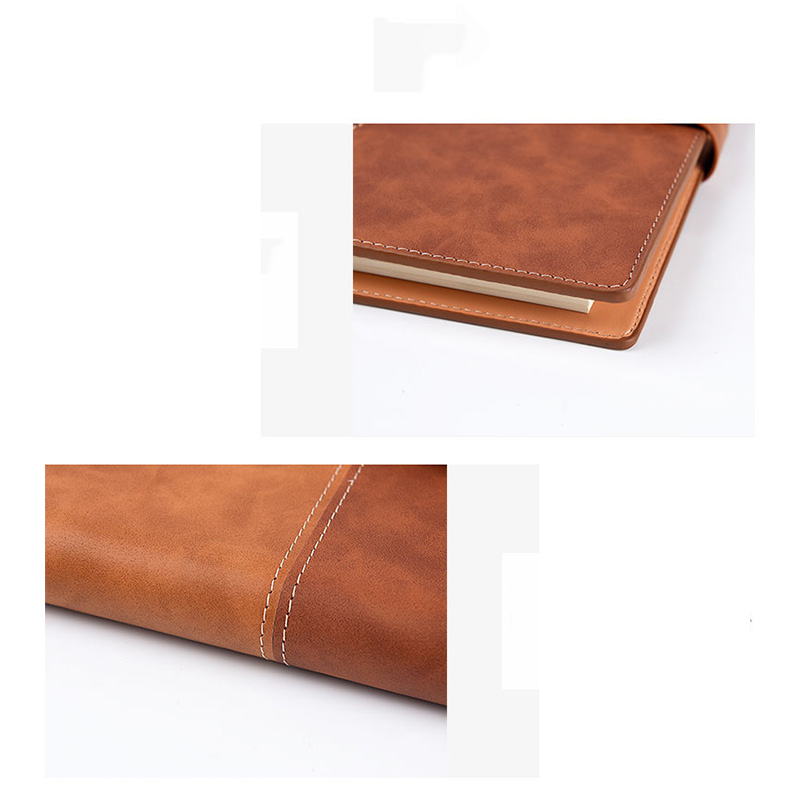 Elfin Book X Leather Cover Reusable Notebook