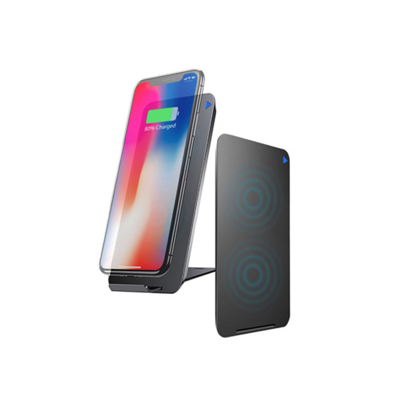 Zikko Wireless Charging Pad - Charge Both Vertically & Horizontally for iPhone X, iPhone 8 Plus, iPhone 8, Samsung Galaxy S8