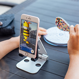 Yeehaw Wand - An AR 3D drawing aid helps you to create, play and print your designs onto the real world