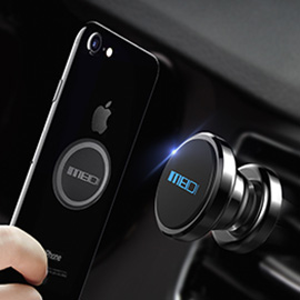 [UPGRADE]MEIDI Car Vent Phone Holder - 360 degree rotation,More compact and high intensity magnetic,High-performance metal materials
