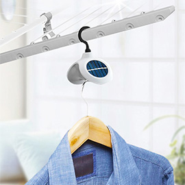 Huluzhuanzhuan Solar Rotating Clothes Hanger