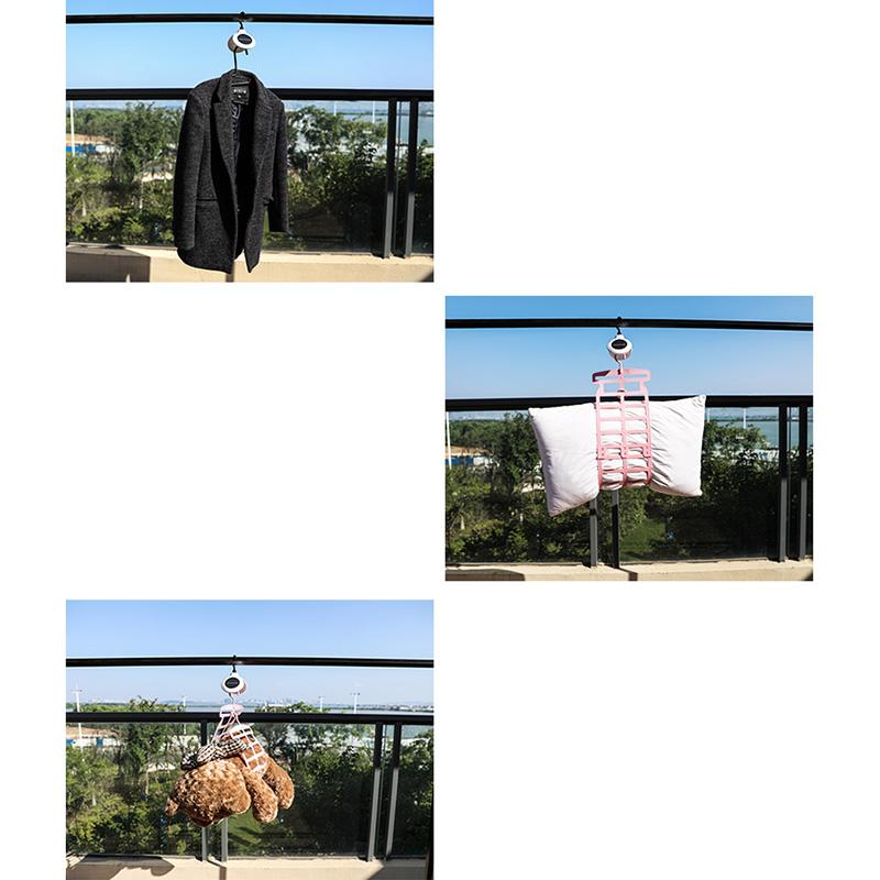 Huluzhuanzhuan Solar Rotating Clothes Hanger