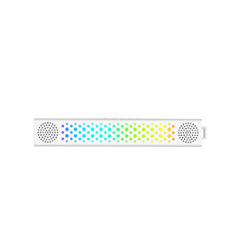 SHINING Versatile Bluetooth Light Speaker - Portable Bluetooth Speaker with Color Changing Lights