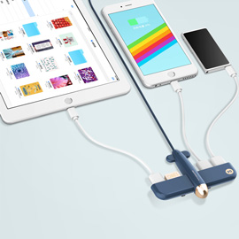 SOLOVE 4-Port USB 2.0 Hub