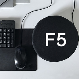 Big F5 Refresh Key Giant Refresh Key and Durable Office Desktop Nap Pillows for Stress Relief Vent Tools