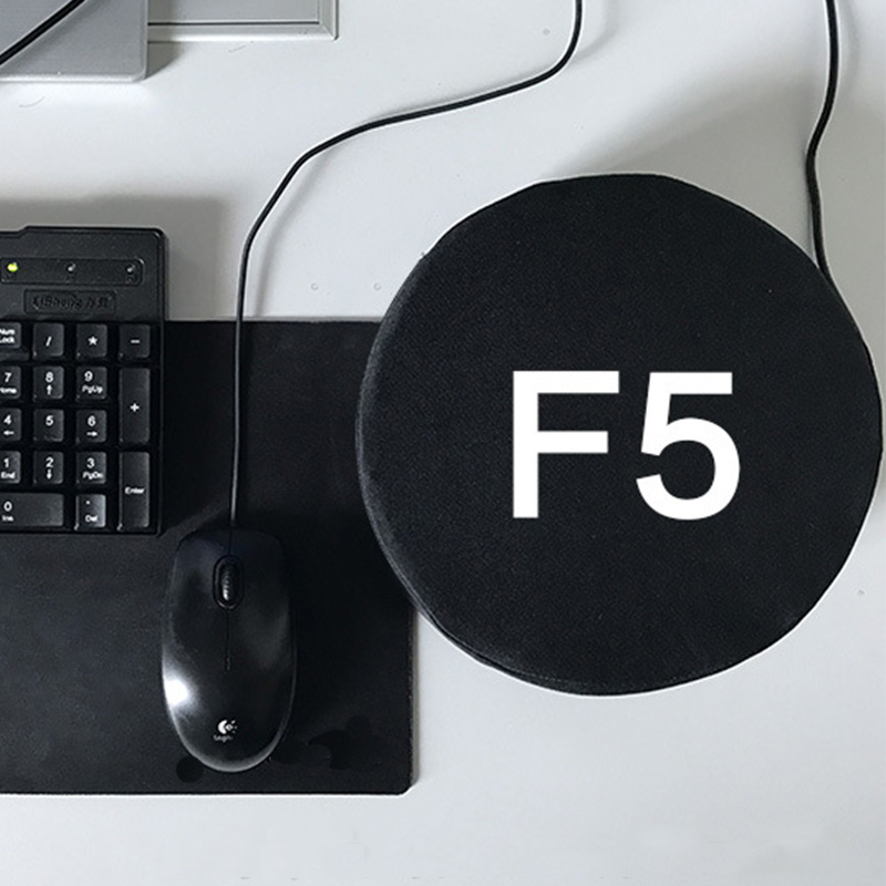 Big F5 Refresh Key - Giant Refresh Key and Durable Office Desktop Nap Pillows for Stress Relief Vent Tools