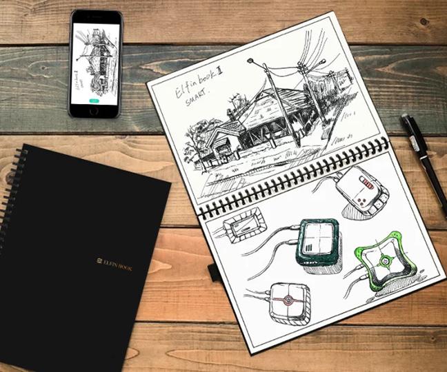 Elfin Book 2.0 Smart Reusable Notebook