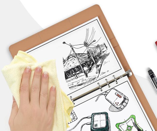 Elfinbook X Smart Reusable Leather Notebook