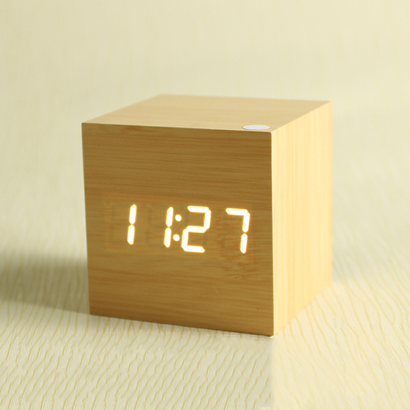 Wooden Digital Clock