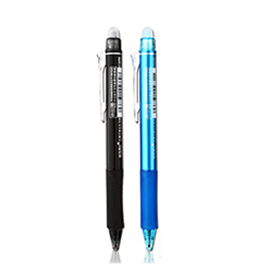 M&G Retractable Erasable Gel Ink Pen(6 Pcs/12Pcs) Retractable, Friction & Heat Erasable, 0.5mm for ElfinBook