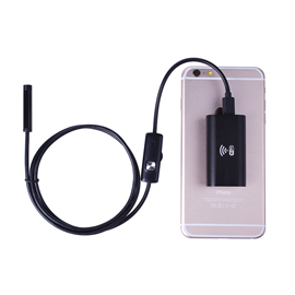 Endoscope Camera STE200 Wifi Endoscope For Android iPhone 0.31inch Diameter Camera, 3.28ft Semi-rigid Cable, Made for iPhone iPad Android Smartphone PC