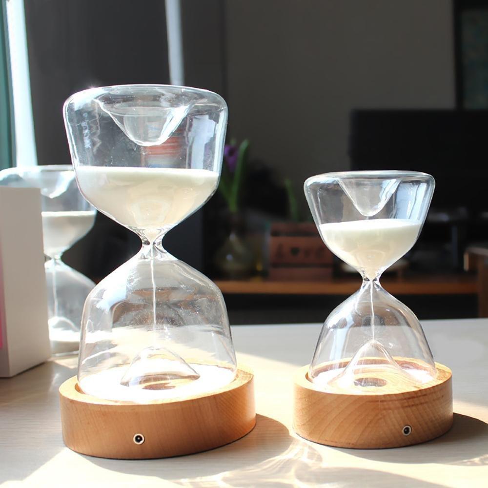 Lantingge Sand Hourglass Night Light