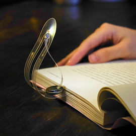 JANPIM Cool Bookmark Clip On Book Light