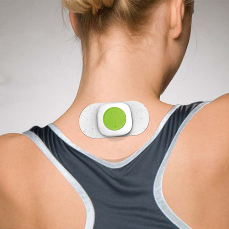 Mooyee S1 Mini Rechargeable Massager For Back Neck Shoulders - USB Charge, Adjustable Intensity, 5 Modes Works For Pain Relief Body Relaxation