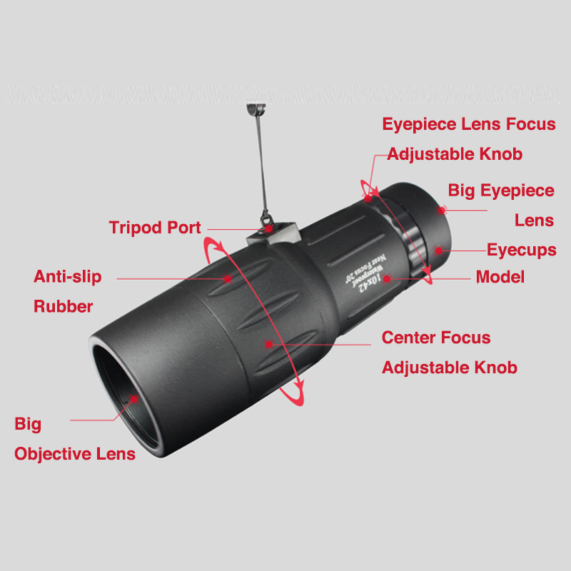 Boshile 10x42 Phone Telescope