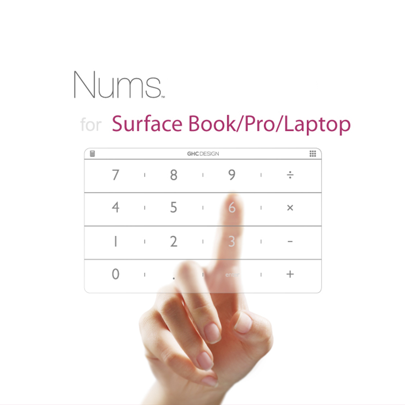 Nums Number Pad for Microsoft Surface Book/Laptop/Pro