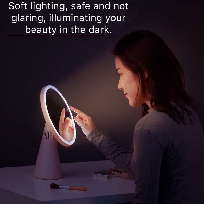 Fascinate BLUETOOTH AUDIO LED Makeup Mirror Table Lamp
