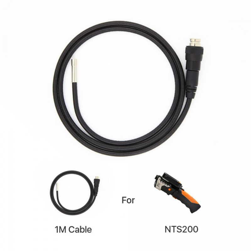 Camera Probe for NTS200 3.9mm/5.5mm/8.2mm diameter, 1m/2m/3m/5m length, 300K pixels