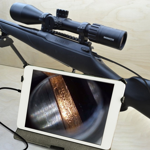 Teslong Rifle Bore Scope 1.0 Megapixel with 3pcs side view mirrors