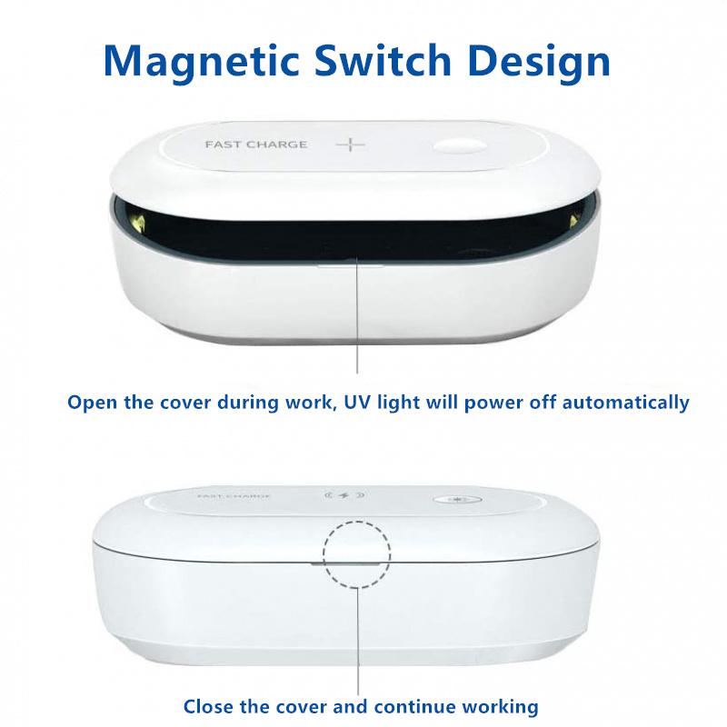 UV Phone Sterilizer & Wireless Charger 3.0
