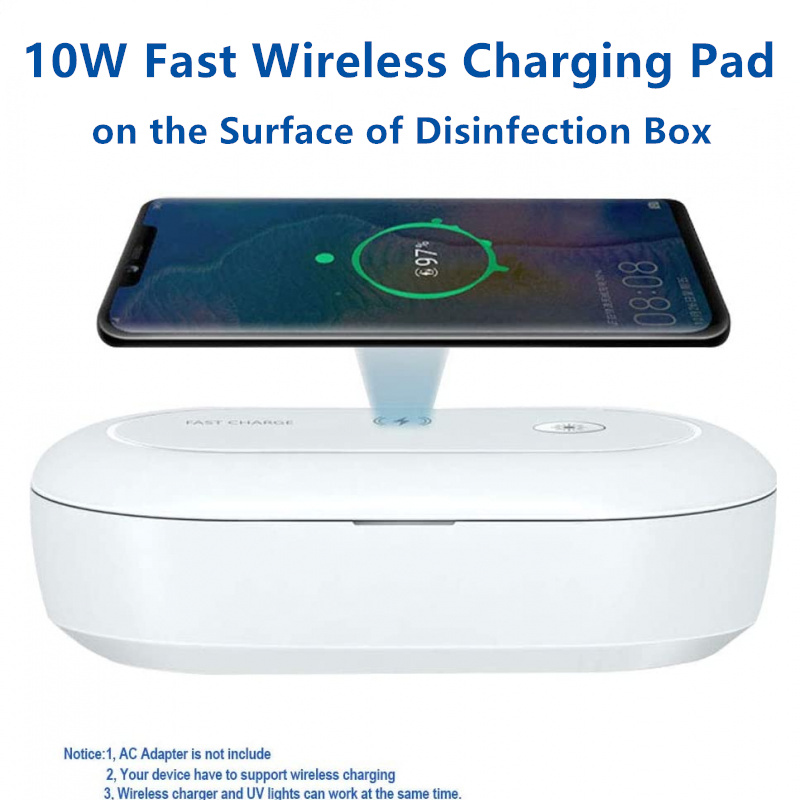 UV Phone Sterilizer & Wireless Charger 3.0