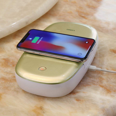 LIOKEN UV Phone Sterilizer & Wireless Charger