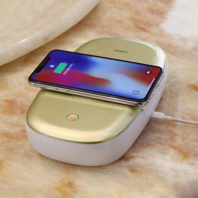 LIOKEN UV Phone Sterilizer & Wireless Charger
