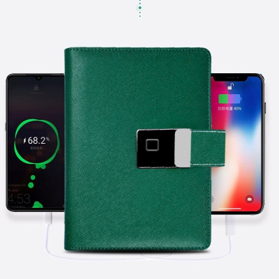 Design your own notebook! Multifunctional Fingerprint Notebook