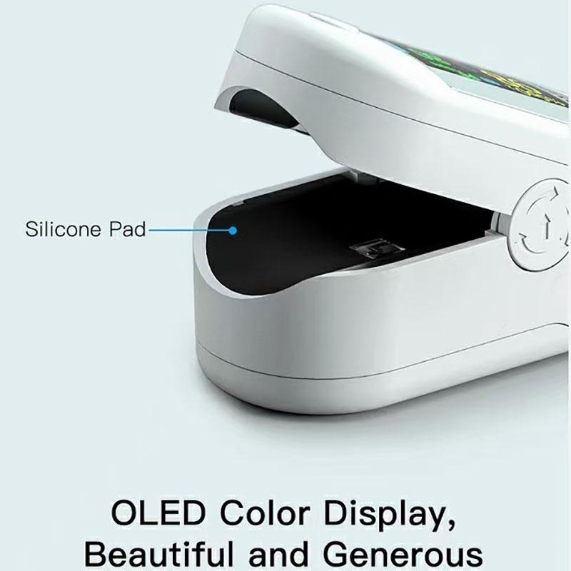 Fingertip Pulse Oximeter Blood Oxygen Saturation Monitor