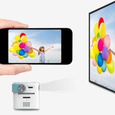 VMAI iCODIS CB-100W Mini Cell Phone Projector