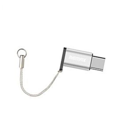 USB-C (Type-C) to Micro USB (female) Adapter (Silver)