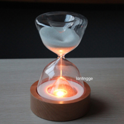 Lantingge Sand Hourglass Night Light