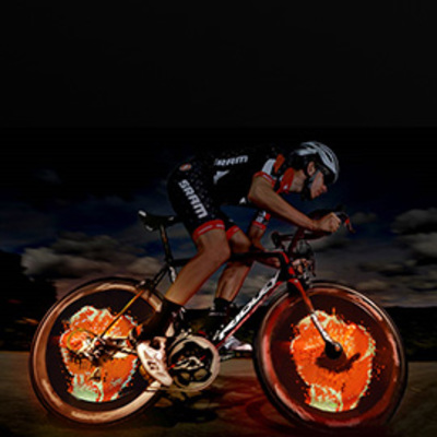XuanWheel Cycplus Bike Wheel Lights
