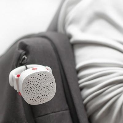 ManlnWhite Mini Bluetooth Speaker Wearable On Wrist