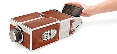 DIY Smartphone Projector - Frees Your Arms and Amplify Your Joy
